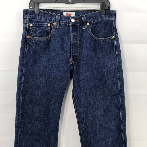 Levi's Other - Men's 501 straight leg button fly jeans 32x30